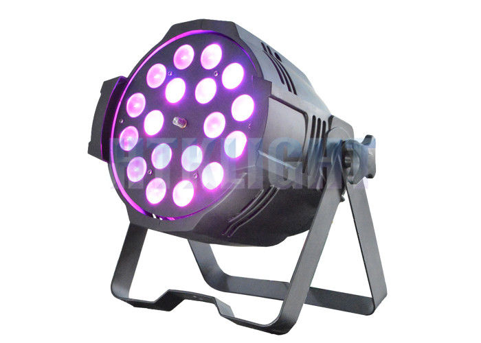 18x18W RGBWA + UV Arena Par Zoom Elation Led Theatre Spotlights Sound Control Mode