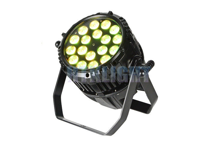 18x12W RGBWA UV LED Theatre Spotlights With 50000hrs Long Lifespan